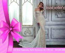 Isabelle's Bridal Gift Certificate